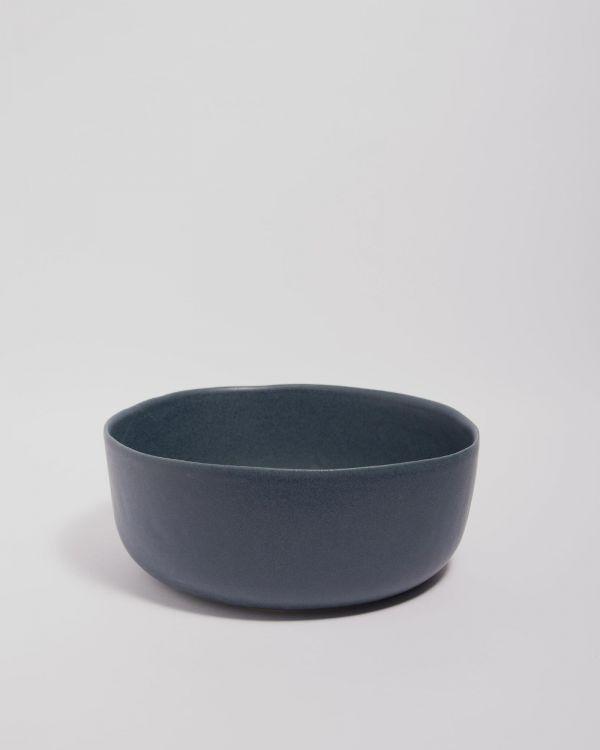 Macio Servierschale blau-schwarz