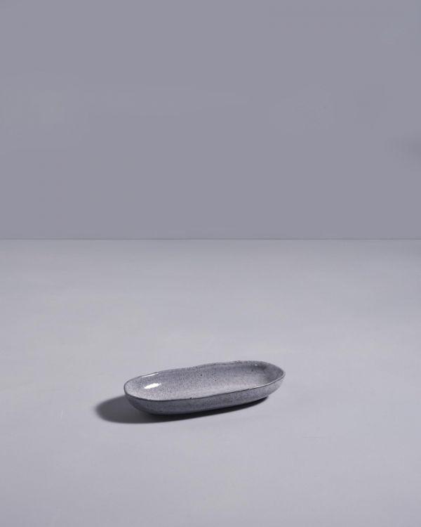 Mae - Servierplatte S grau