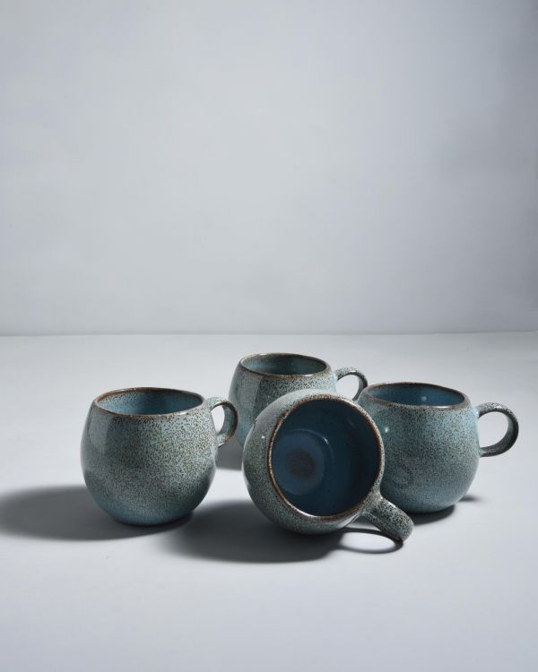 Mae Set of 4 Cups turquoise