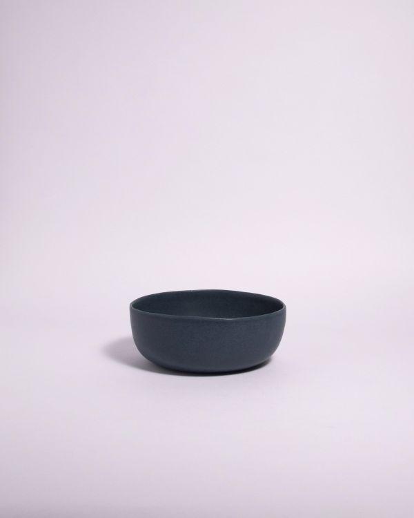 Macio Müslischale  blau-schwarz