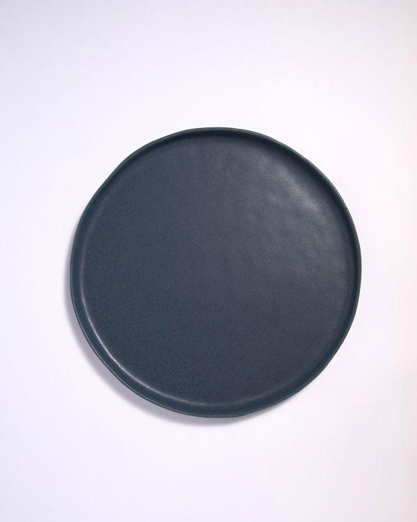 Macio Teller gross blau-schwarz