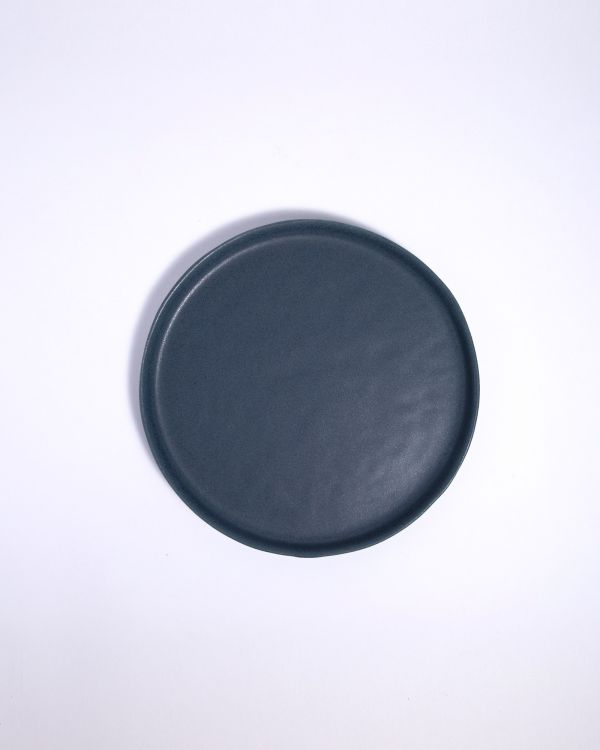 Macio - Teller klein blau-schwarz