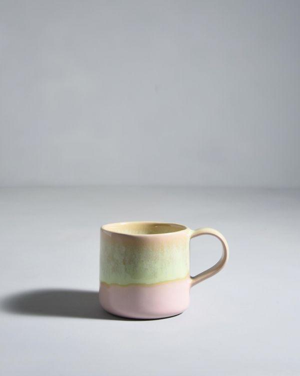 Pirolito Tasse rosa grün