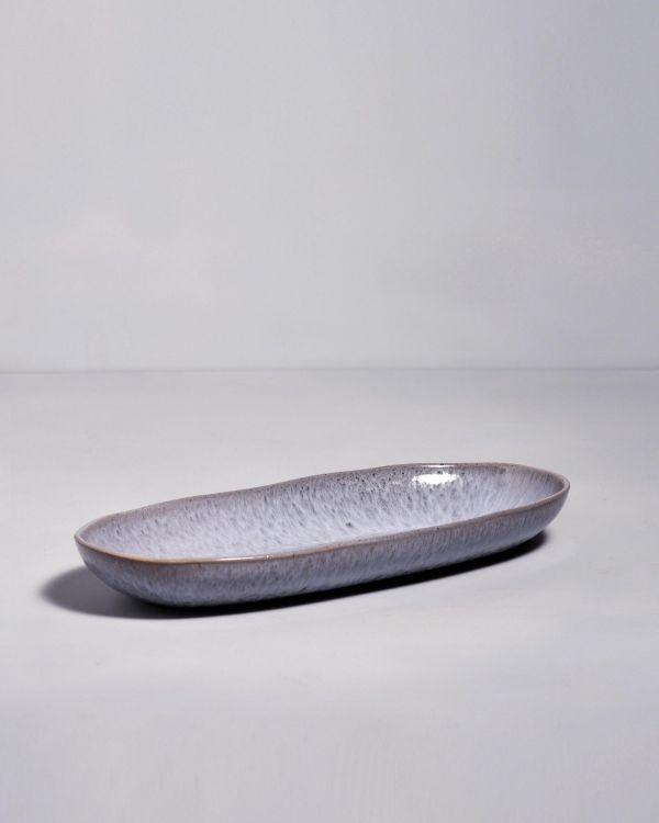 Porto Servierplatte L grau