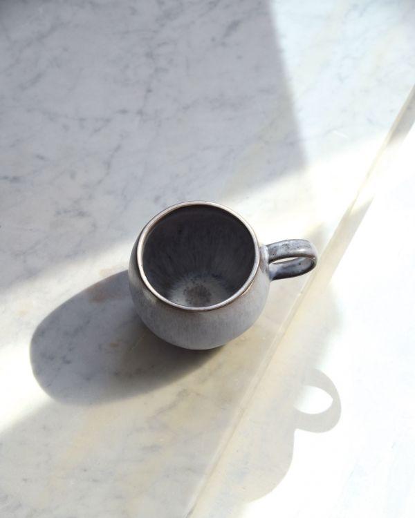 Porto Tasse groß grau