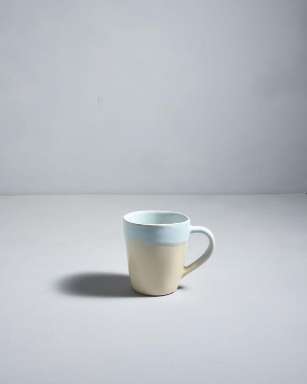Tia Tasse blau beige