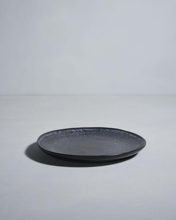 Turmalina Teller klein schwarz