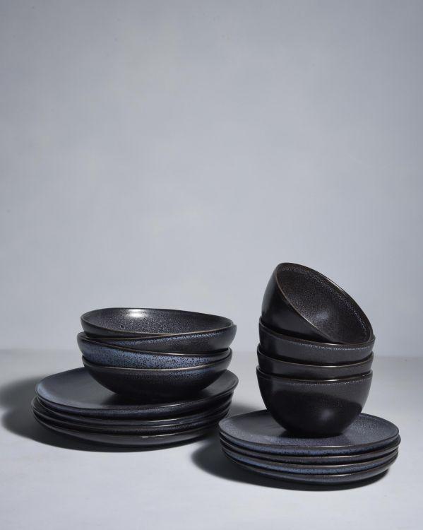 Turmalina 4er Set schwarz