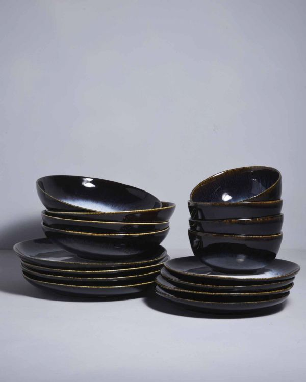ALACHOFRA - Set of 4 black