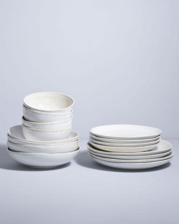 Amado weiß - 16 teiliges Set
