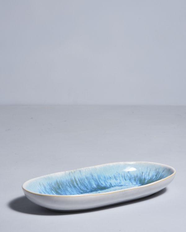 AREIA - Serving Platter L aqua