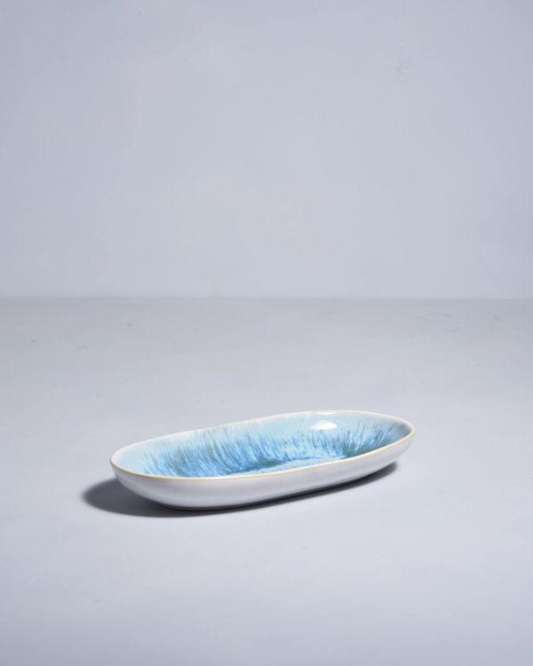 AREIA - Serving Platter M aqua