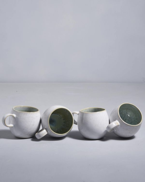 Areia Set of 4- Cups small mint