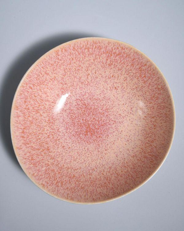 Areia Servierschale gross flach pink