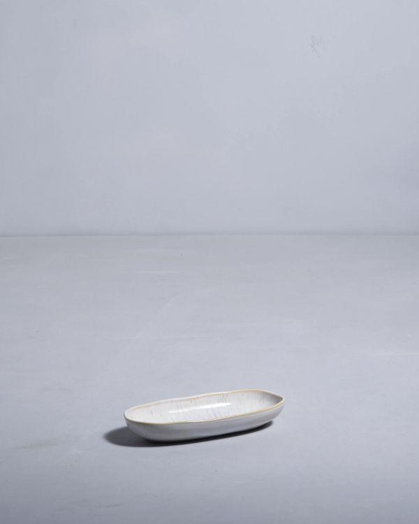 Areia Servierplatte S sand