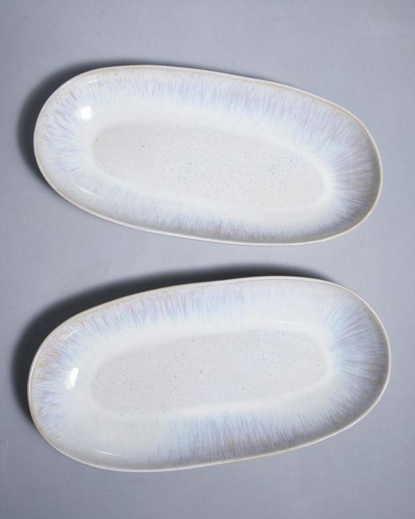 AREIA - Oval Serving Platter L sand