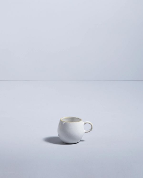Areia Espressotasse weiß mit Gold