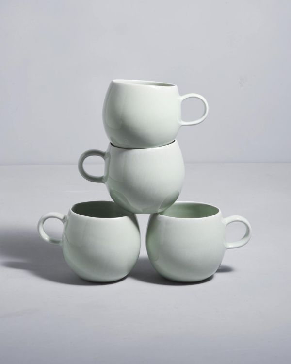 AREIA DUPLA - Set of 4 Cups big candy mint