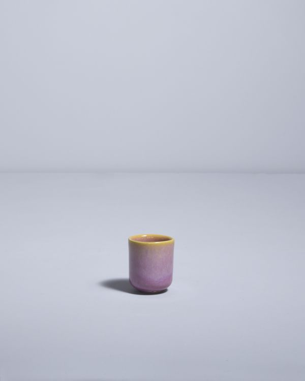 Copa Alto Espressobecher gelb rosé