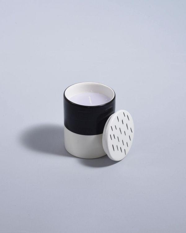 Vela Kerze schwarz weiß