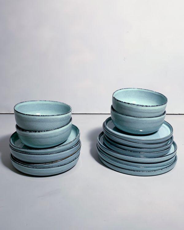 Lua 4er Set blau