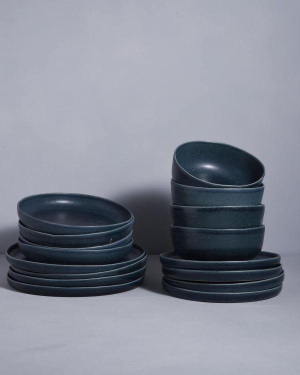 MACIO petrol - Set of 16 pieces