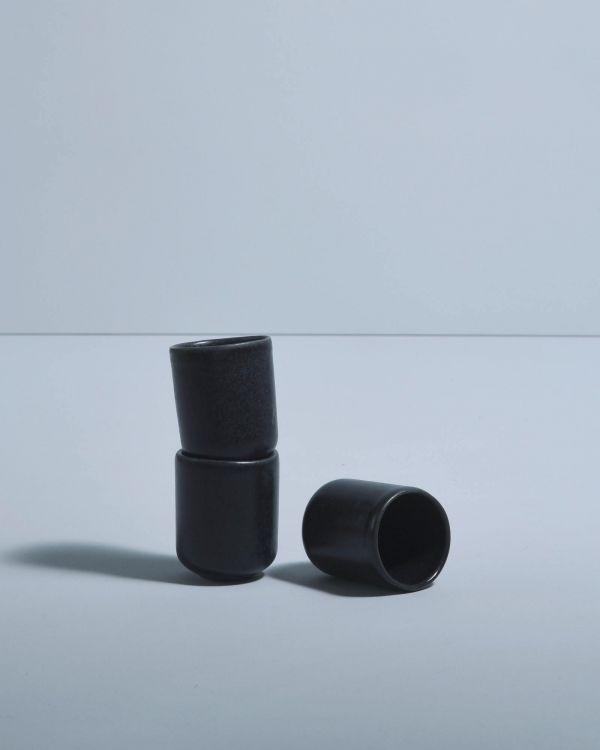 Macio Espressobecher schwarz