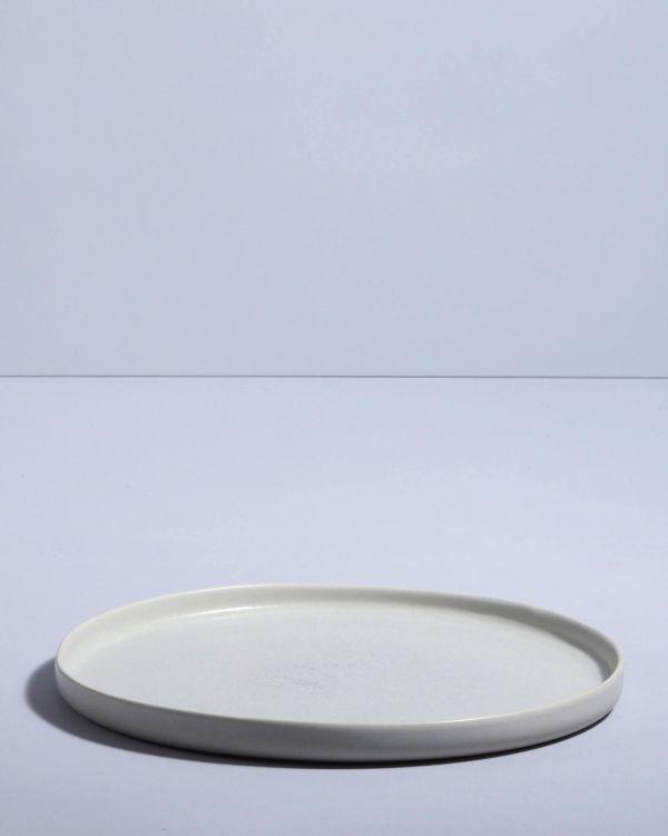 MACIO - Plate large stone green