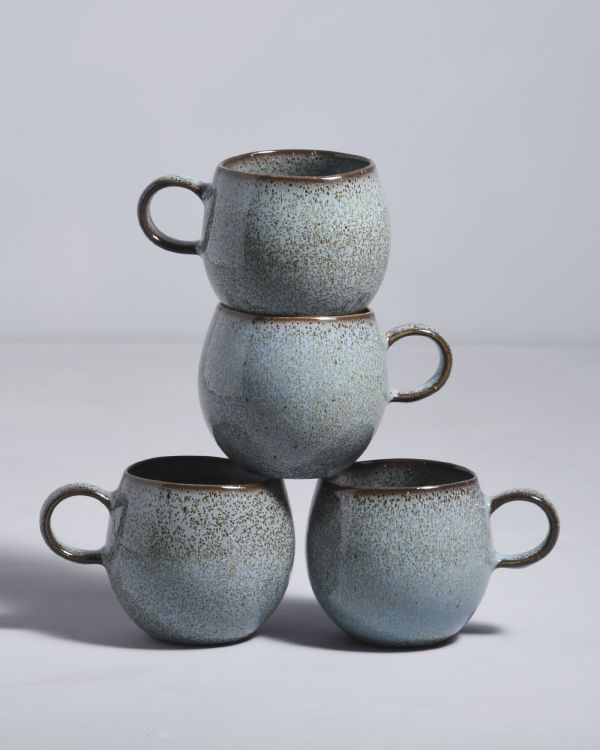 MAE - Set of 4 Cups samll turquoise