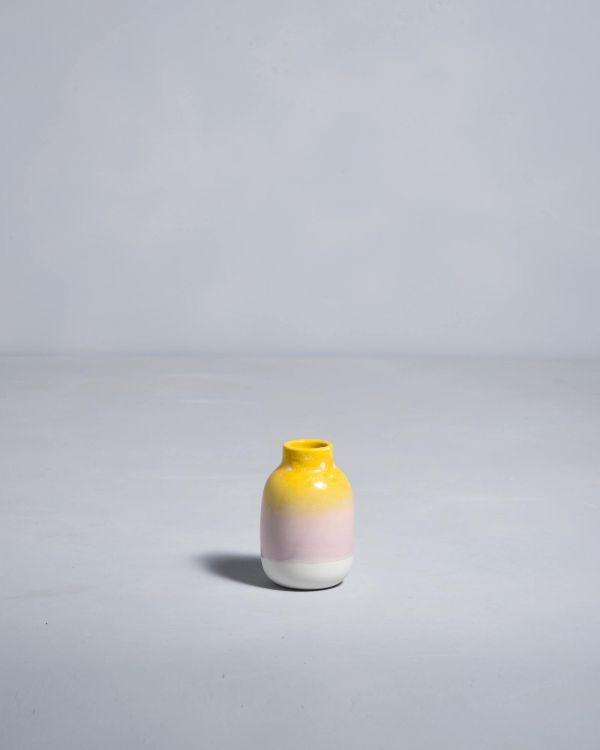 Nuno S gelb rosa gesprenckelt