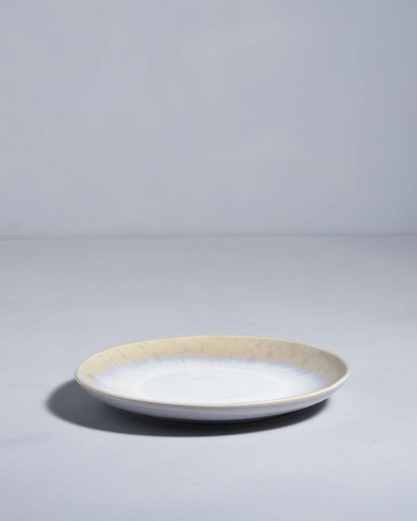 ALACHOFRA - Plate small ivory