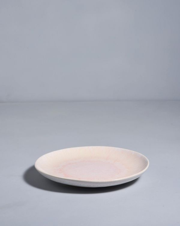 ALACHOFRA - plate small peach