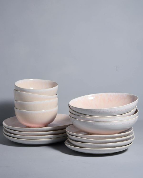 ALACHOFRA - Set of 4 peach