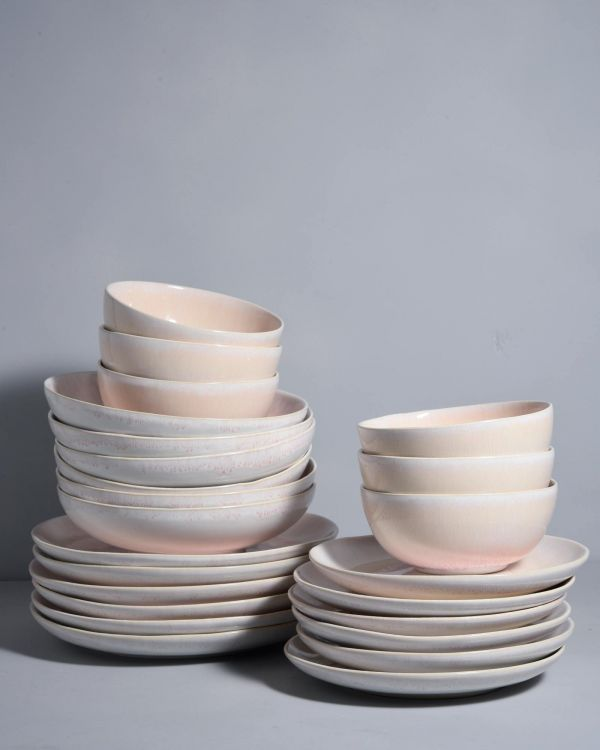 ALACHOFRA - Set of 6 peach