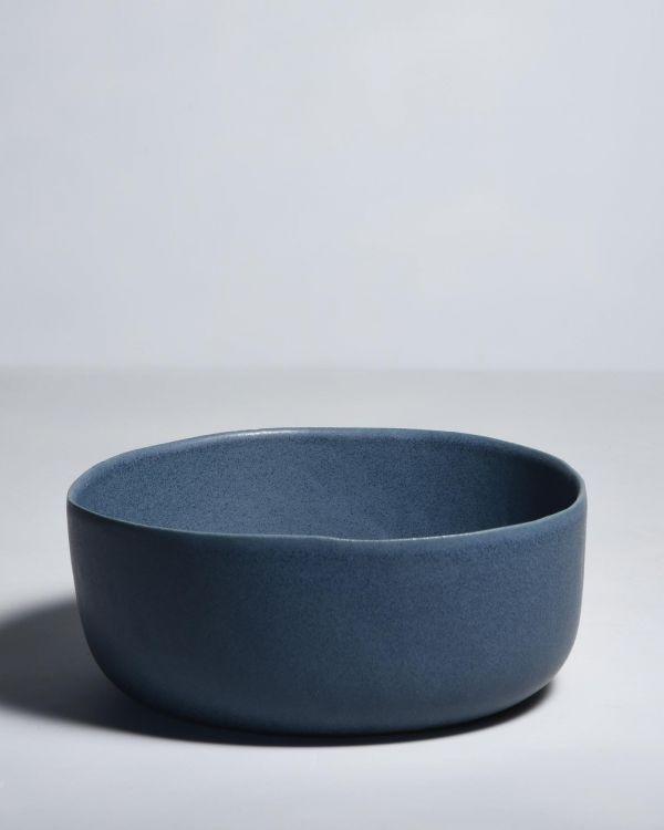 Macio Servierschale blau