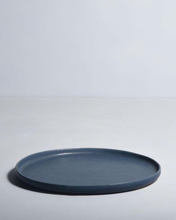 MACIO - Plate large blue