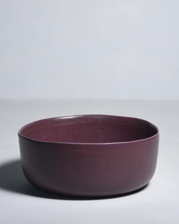 MACIO - Servingbowl burgundy