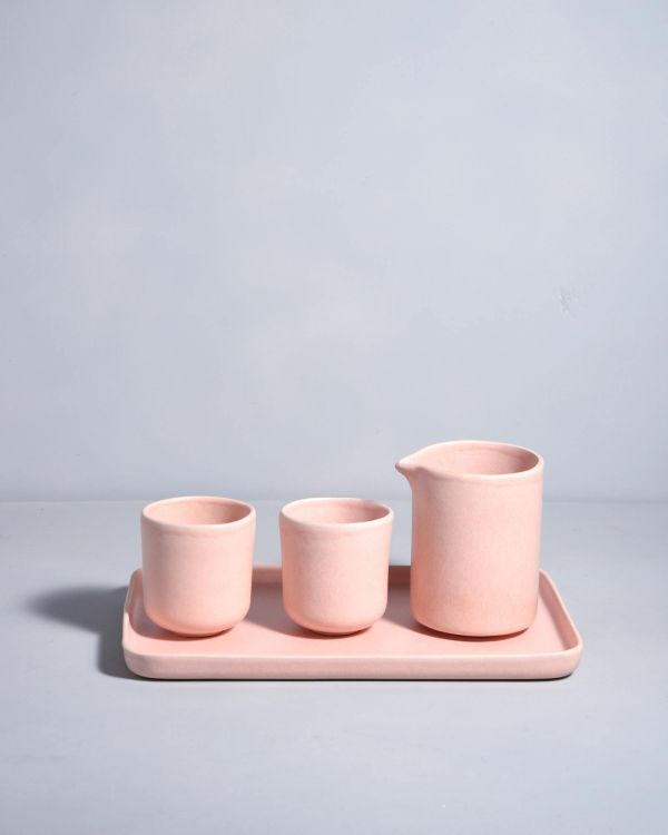 MACIO - breakfast Set rose