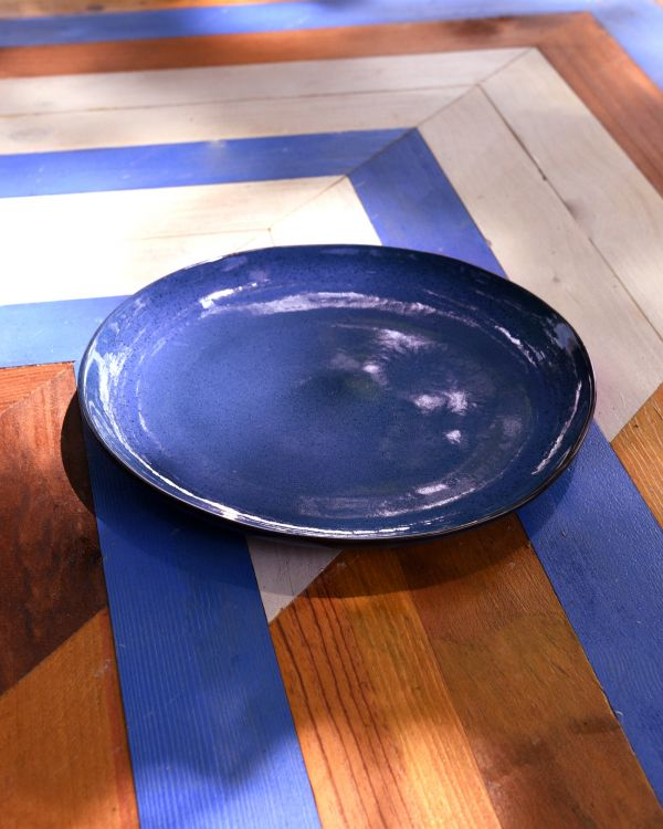 MAE - Plate large blue