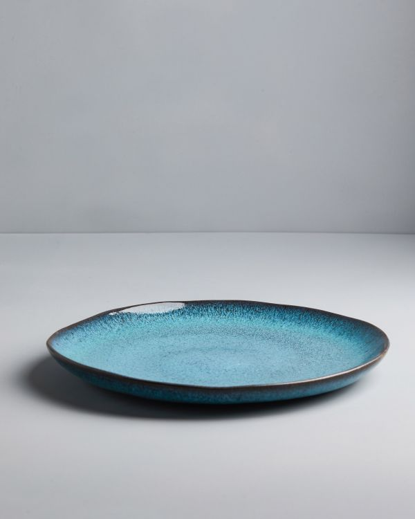 AREIA - Plate large teal