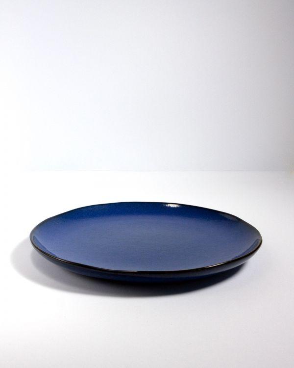 Mae Teller gross dunkelblau