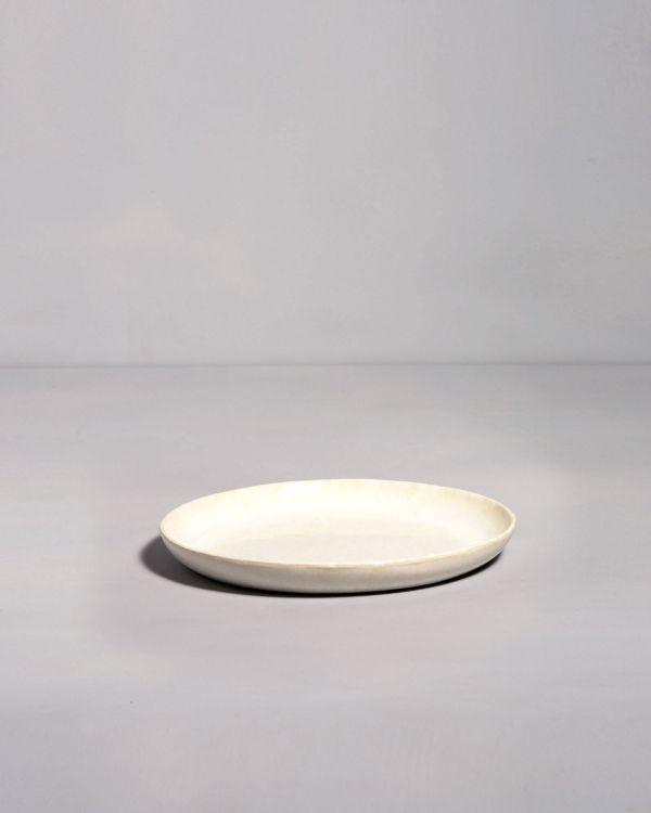 Tróia - Plate small white