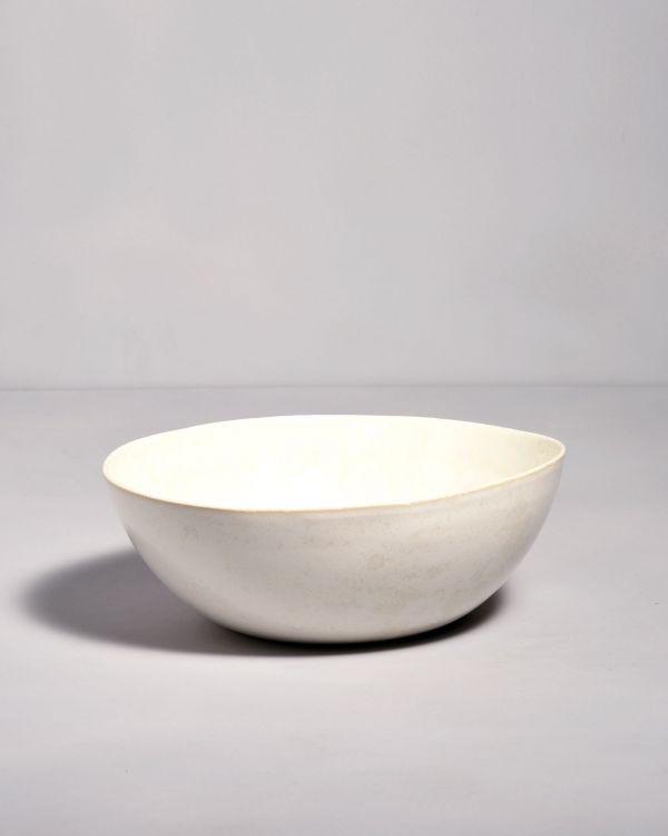 Tróia Servierschale weiß
