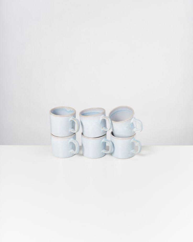 Cordoama 6er Set Tasse azur