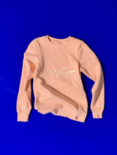Girls Sweatshirt Peach