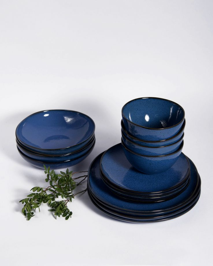 Mae 4er Set - dunkelblau