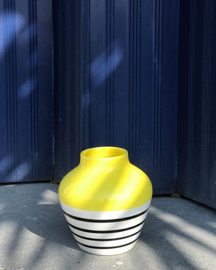 Madalin gelb schwarz gestreift