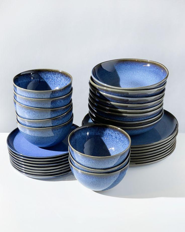 Melides blue - 32 teiliges Set