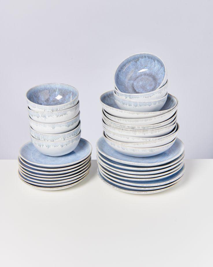Alcachofra graublau - 32 teiliges Set