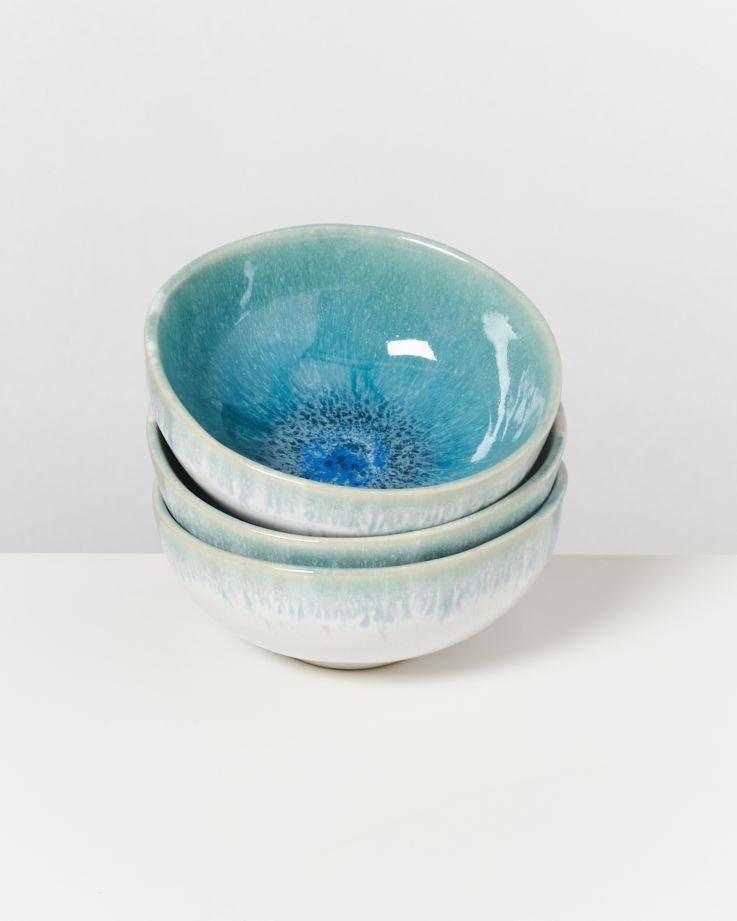 Alcachofra Saucenschälchen 11 cm grünblau